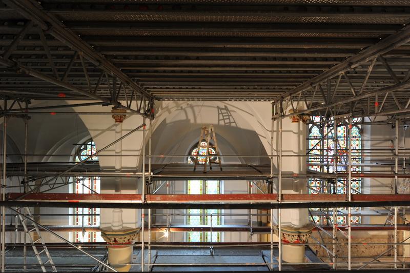 Renovierung der Kirche St. Martin in Bad Godesberg (Muffendorf)