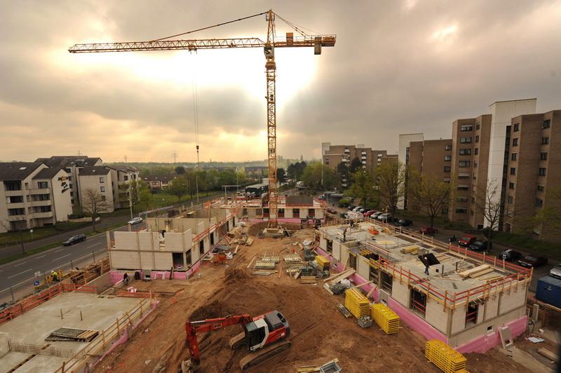 Neubau Wohnheim Tannenbusch, 22. April 2015
