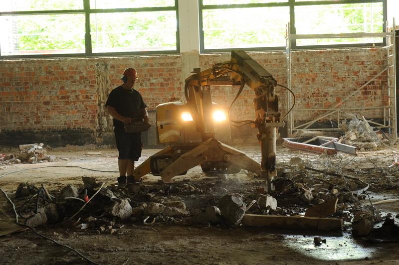 Sanierung Mensa Poppelsdorf, 10. Juni 2015