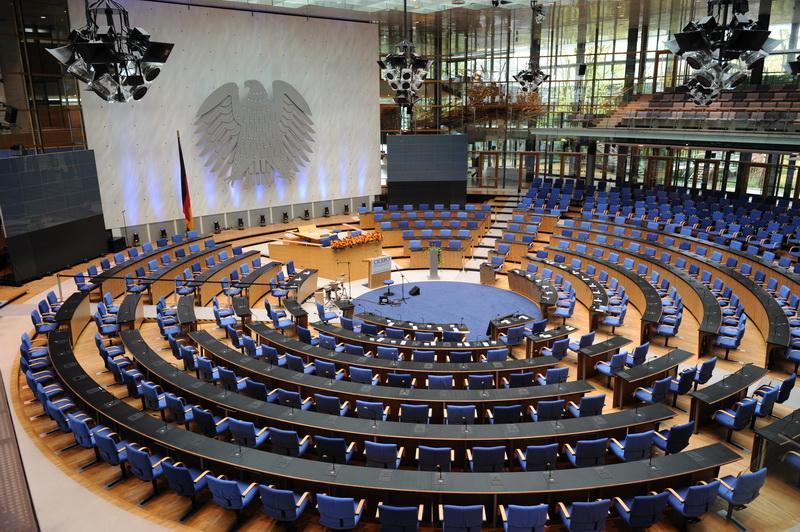 ehemaliger Plenarsaal des Deutschen Bundestages in Bonn