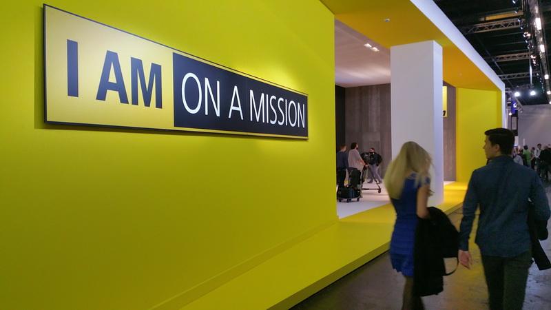 Nikon Messestand auf der Photokina 2016