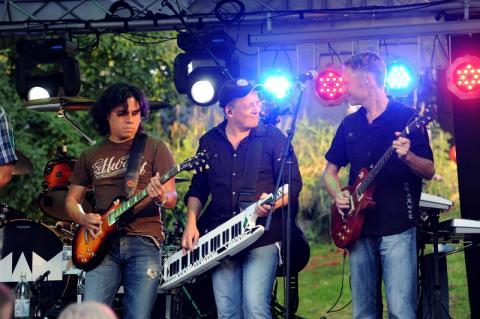 Open-Air-Konzert der BAP-Coverband MAM, Bonn-Bad Godesgerg, 2011