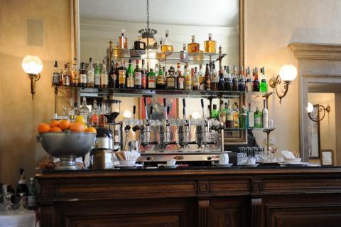 Bar im Palazzo Reale