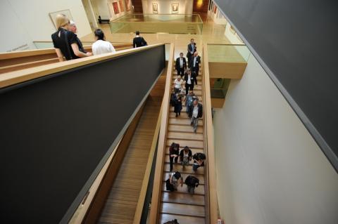 Treppenhaus im LVR-LandesMuseum Bonn
