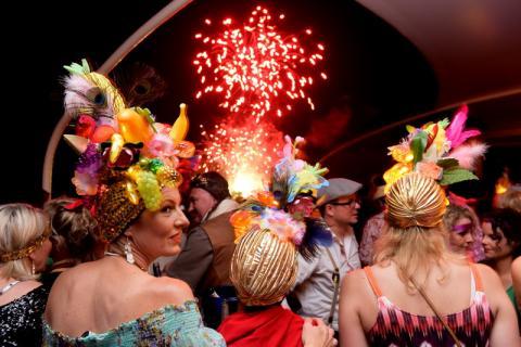 Karneval op d'm Rio auf der MS Asbach am 6.8.2016